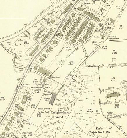 1933 Ordanace Survey Map © National Library Scotland