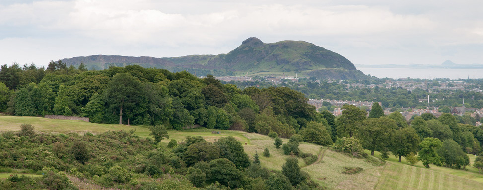 craiglockhart hill and arthurs seat
