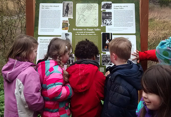 The Friends of Craiglockhart Woods and Nature Trail, History Board
