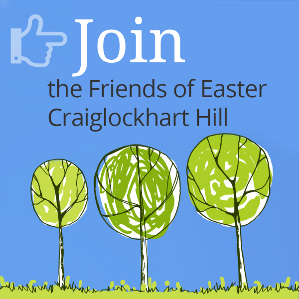 Join the Friends of Easter Craiglockhart Hill